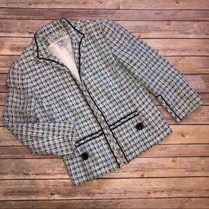 Carlisle Tweed Spring Blazer Size 6